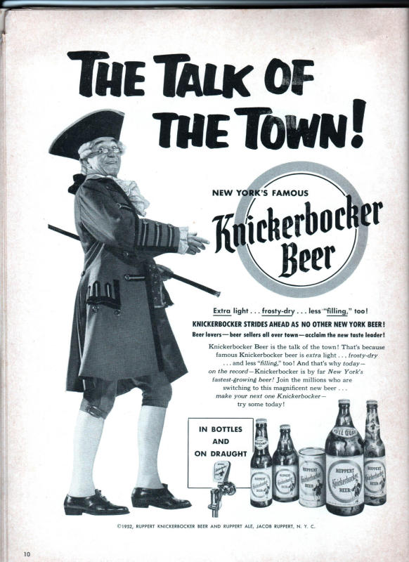 Knickerbocker beer