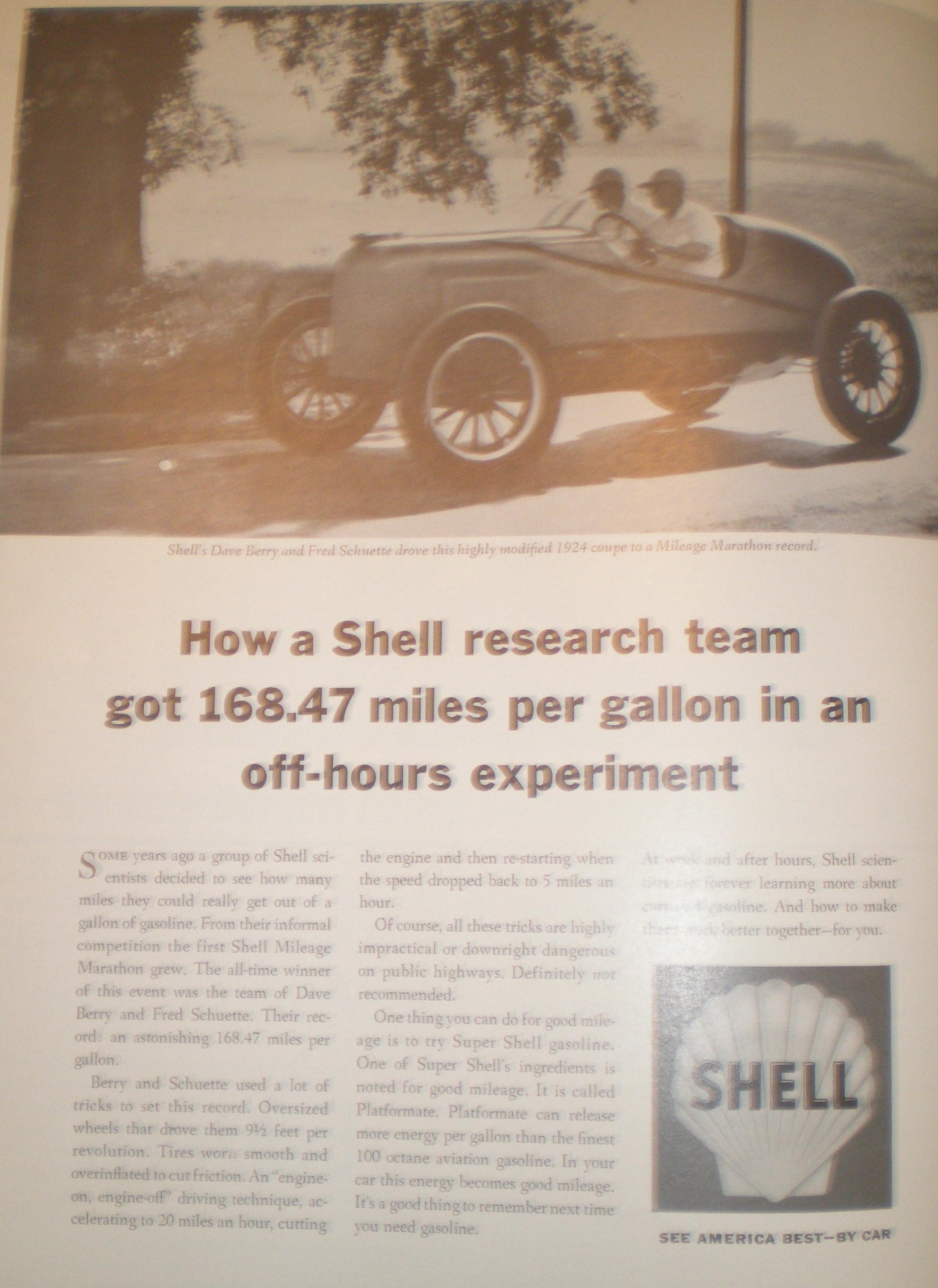 Shell Oil Democratic Convention Ad, 1964