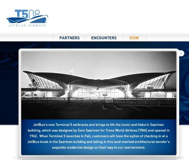 Jet Blue Terminal 5 Restoration at JFK