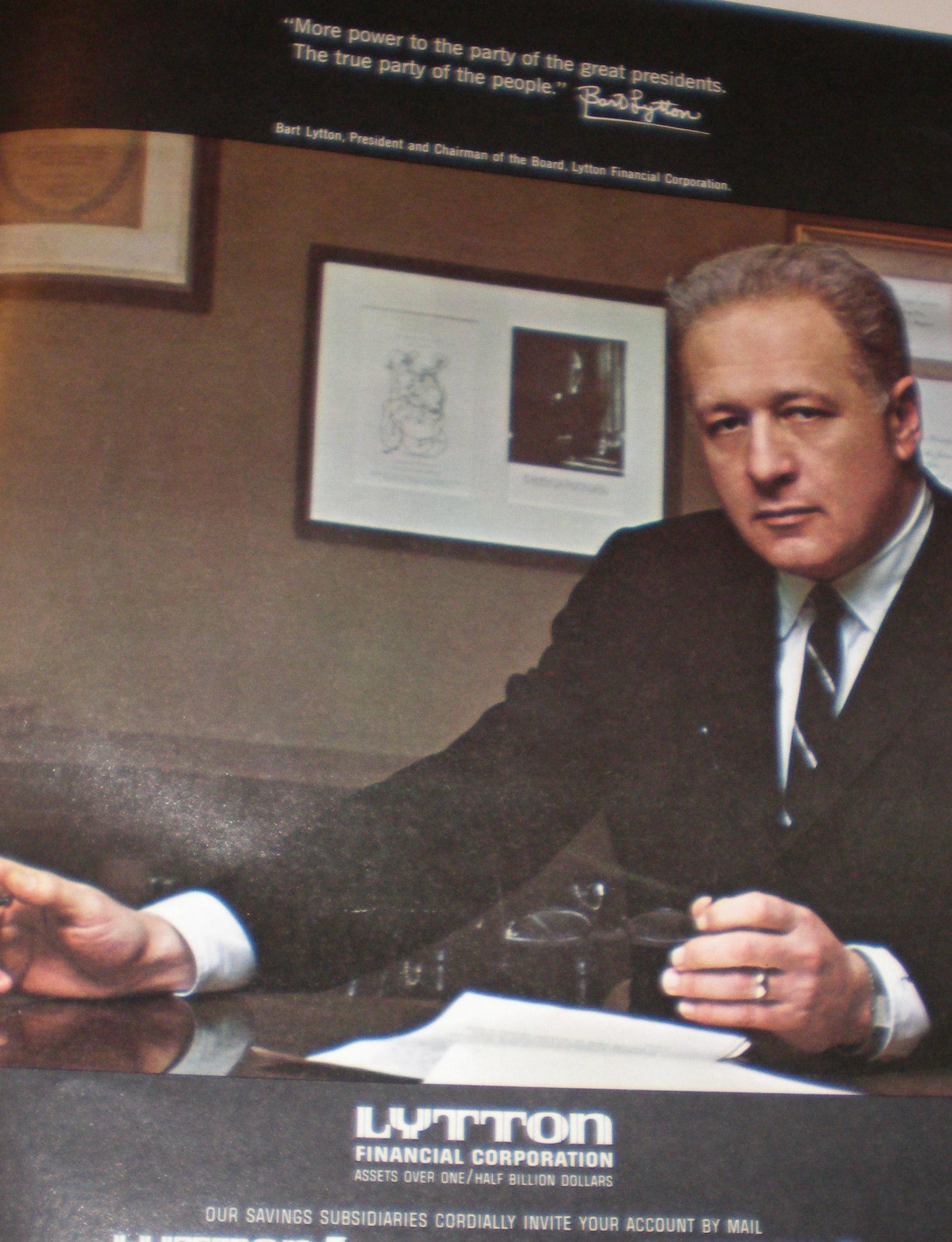 Bart Lytton of Lytton Financial
