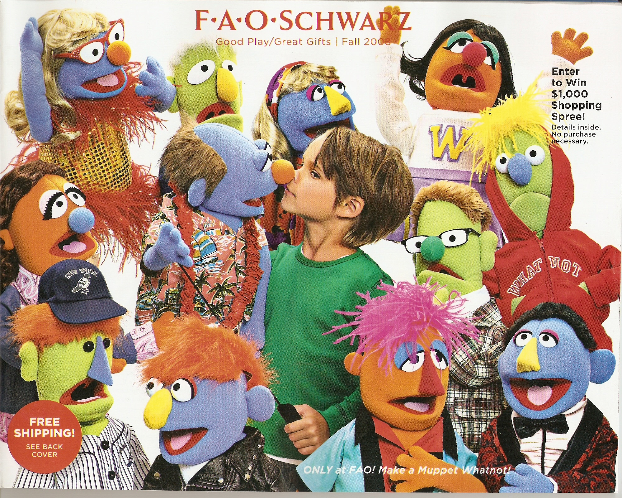 muppetational fall fao schwarz catalog