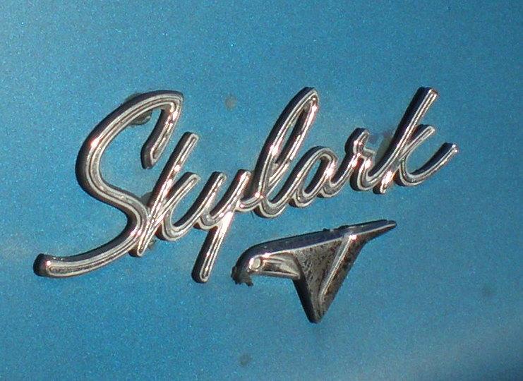 Buick Skylark Nameplate