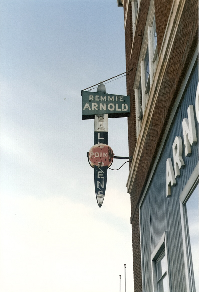 Remmie Arnold Pen Company Sign, Petersburg, Virginia