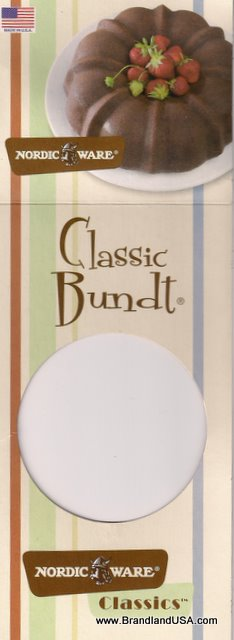 Bundt Label from Nordic Ware