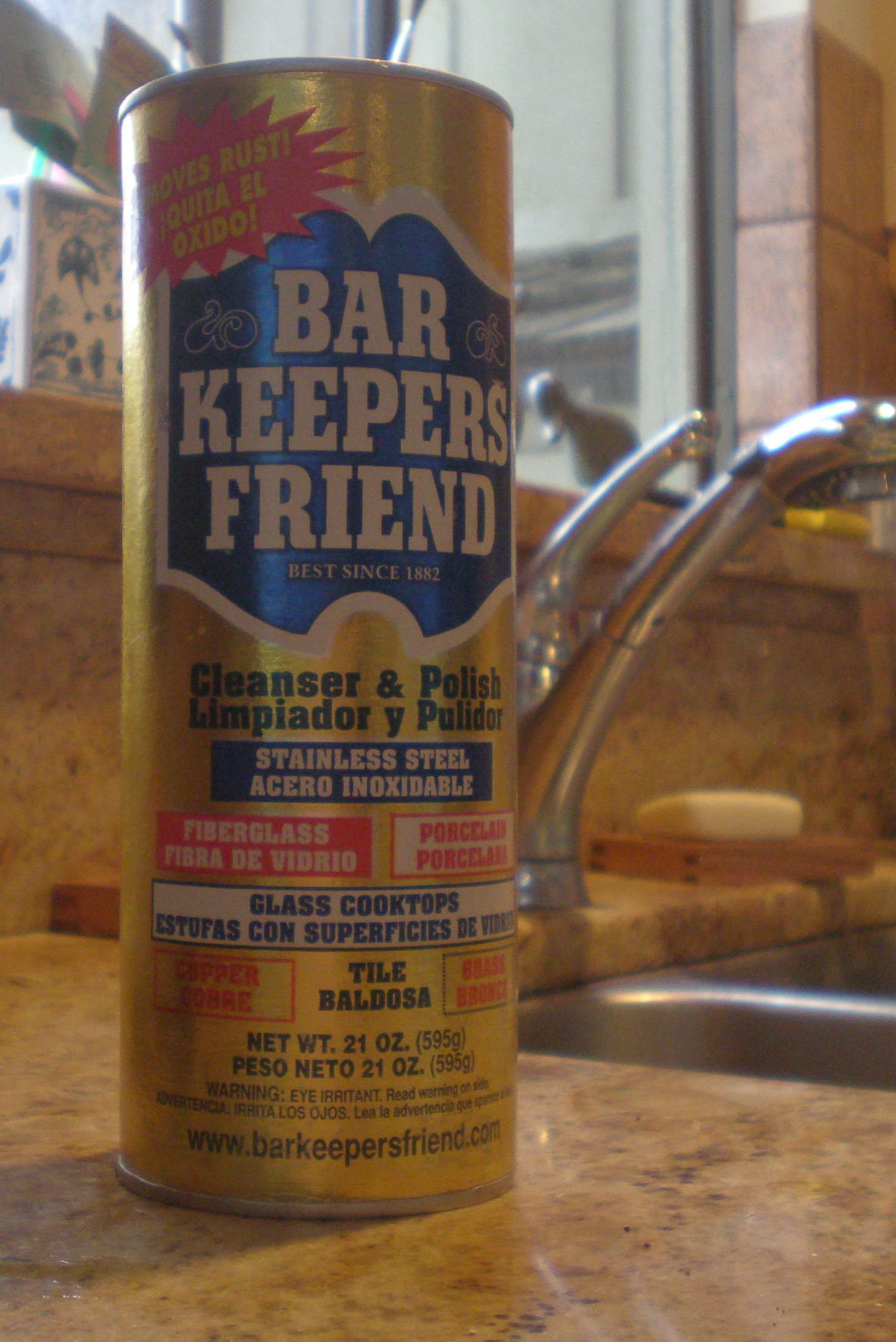 Bar Keepers Friend, One of Many Great Hoosier Brands