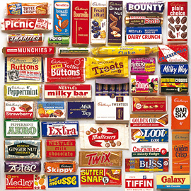 British Candy and Sweet Brands