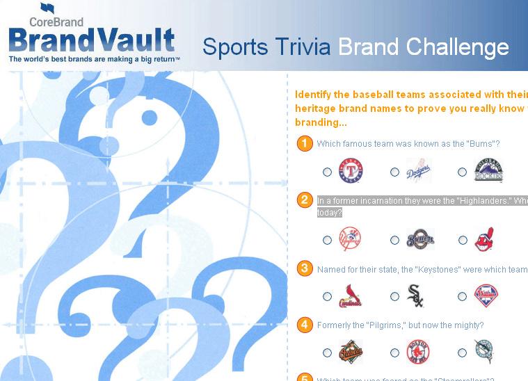Baseball Trivia Challenge