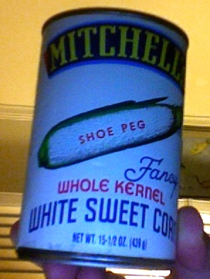 Mitchell's White corn