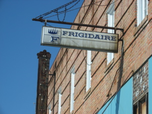 Frigidaire on Main Street
