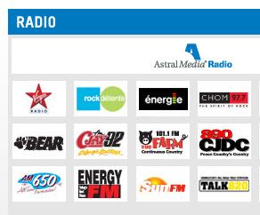 Astral Radio Stations