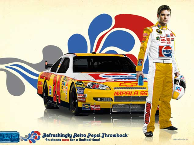 jeff gordon 2009 paint scheme. Jeff Gordon is driving a