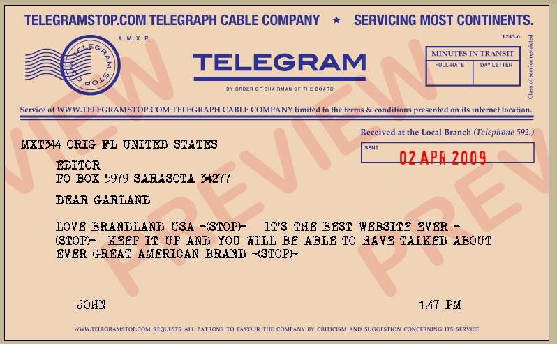 Telegram from Telegramstop