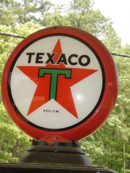 Texaco Vintage pump