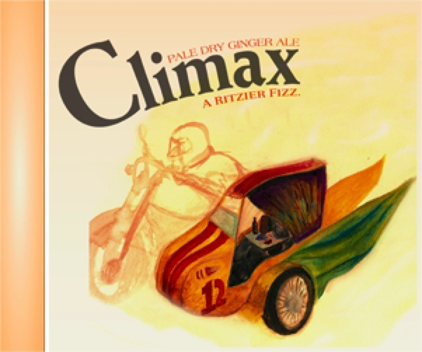 Climax Ginger Ale, Richmond Virginia, relaunch ad