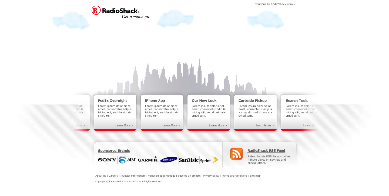 RadioShack, RSH