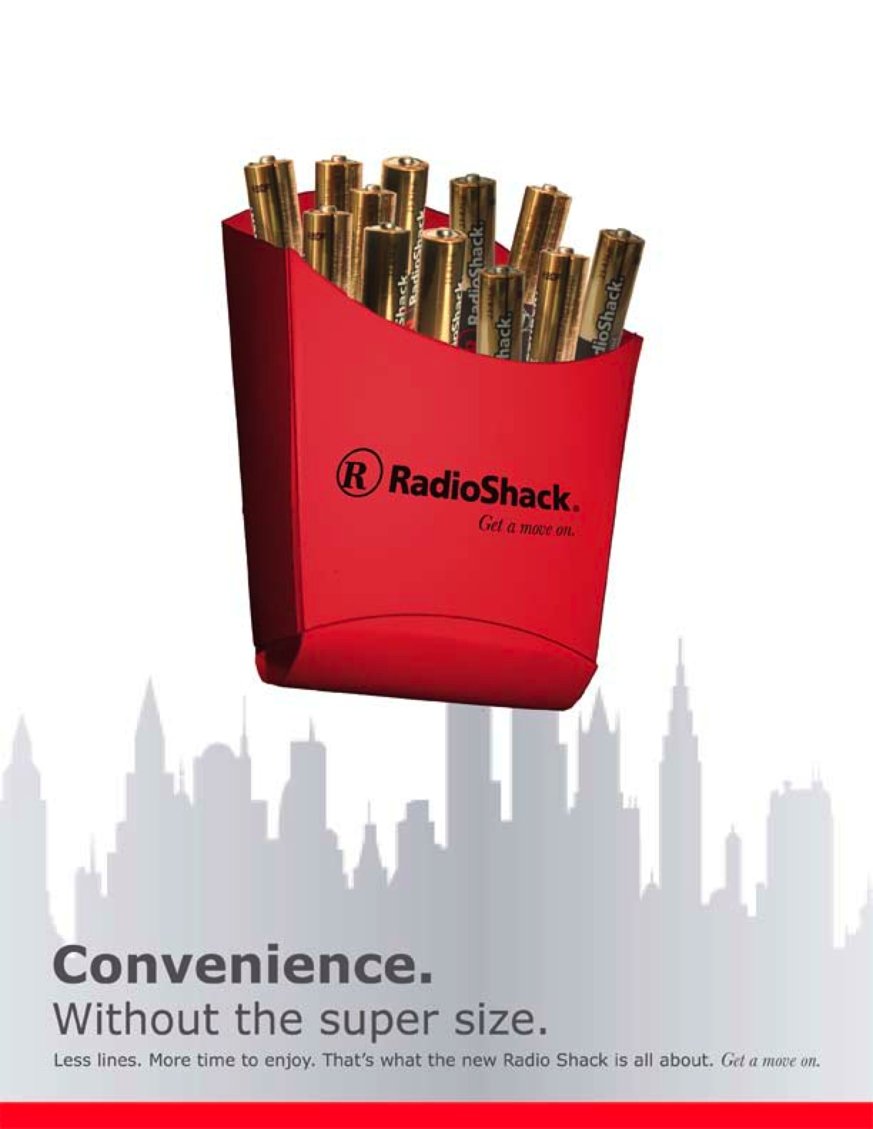 Radio Shack new campaign