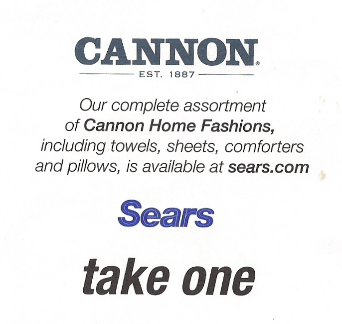 Cannon at Sears