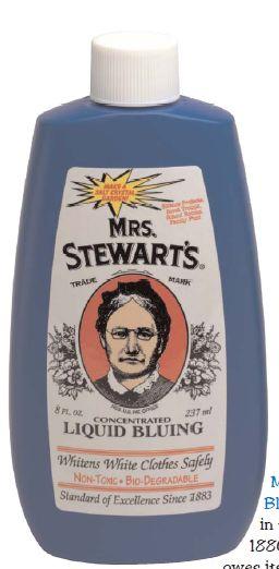 MRs. Stewart's Bluing
