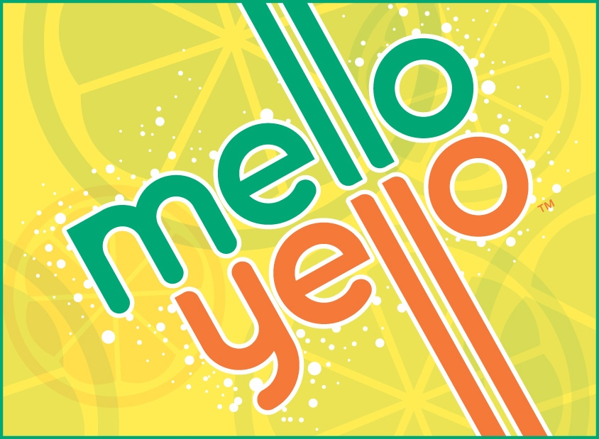 Mello Yello Retro Packaging