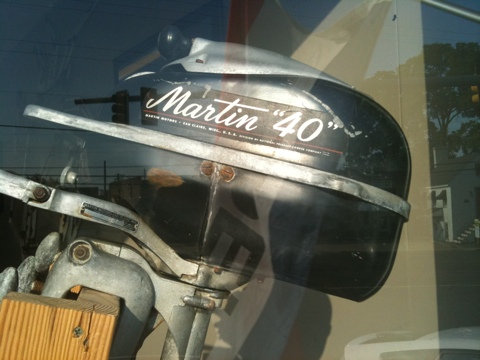 Martin Outboard Motor