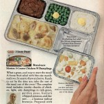 A Morton frozen dinner from the 1960s.