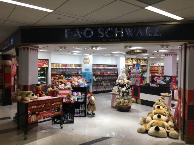 FAO Schwarz Airport Store